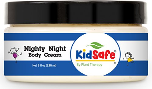 (Plant Therapy Nighty Night Body Cream. Made with 100% Pure Essential Oils. Blend of: Lavender, Marjoram, Mandarin, Cedarwood Atlas, Patchouli, Clary Sage, Chamomile Roman and Blue Tansy. 8)