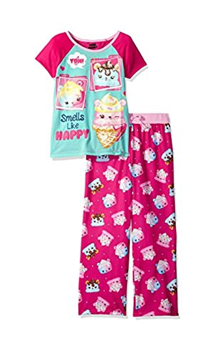 Num Noms Big Girls' 2pc Sleepwear Set, Pink, M