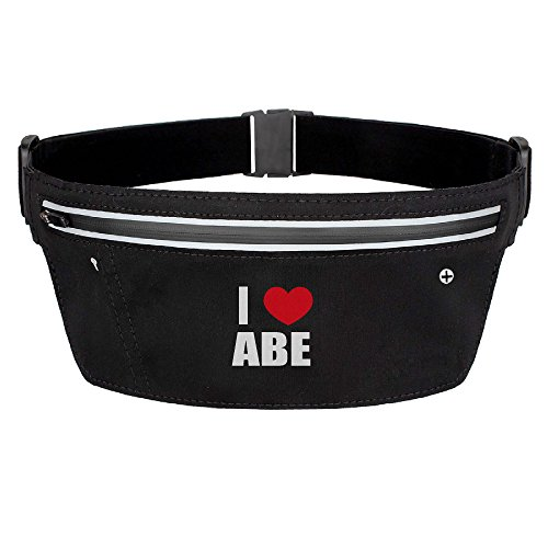 reflective-women-i-love-abe-i-love-abraham-heart-waist-pack-zip-bag-buckle-elastic-adjustable