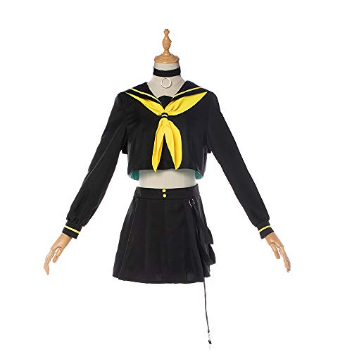 Costory Vocaloid Newest Hatsune Miku Kagamine Len Rin Cosplay Costume Halloween Women Full Suit -