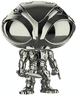 Funko Pop Heroes: Aquaman Black Chrome - Black Manta Movie Walmart Exclusive! #248