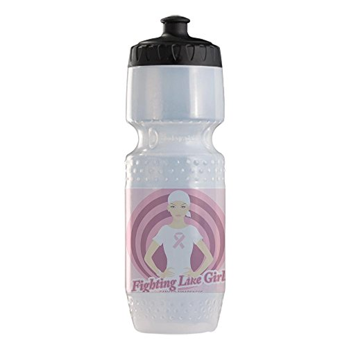 Sports Beverage Water Cycle Bottle Fighting Like Girls Cancer Awareness