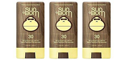 Sun Bum SPF 30 jMFSU Sunscreen, Original Face Stick