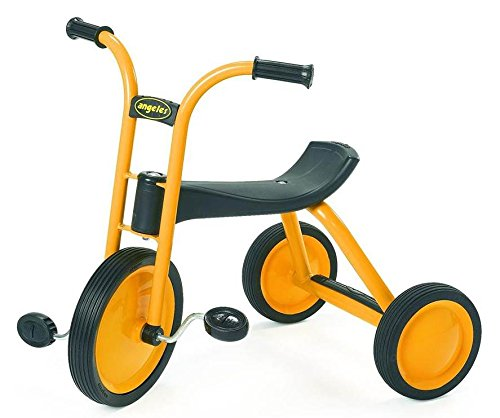 Angeles MyRider Midi Trike Bike, Yellow - Perfect for Beginning Riders Ages 3+, Encourages Active Play, Supports Up to 70lbs., Durable Design, Built-In Safety Features, Comfortable Ride, Solid Tires