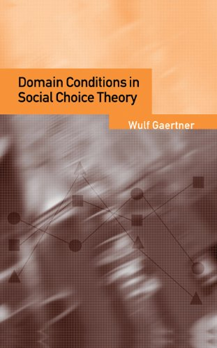 Domain Conditions in Social Choice Theory