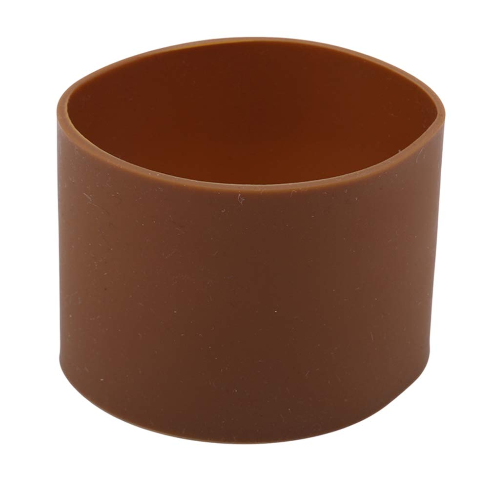 EH-LIFE Water Cup Cover Silicone Sleeves Heat Resistant Non-Slip Coffee Cup Ceramic Mug Wraps Sleeves 5.5cm Coffee