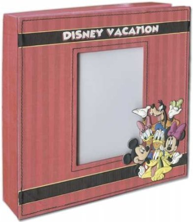 Disney Vacation Shadowbox & 2 Sided Frame Set by None
