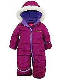 Baby Girls One Piece Warm Winter Puffer Snowsuit Pram Bunting