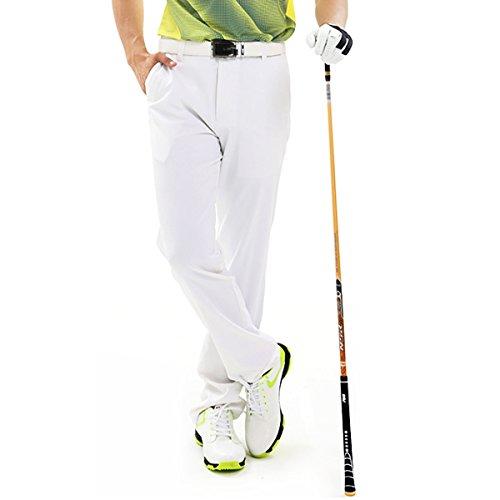 jpfashioning 超薄型、速乾性、 メンズゴルフクイックドライクールストレッチパンツズボン服高品質ゴルフカジュアルパンツ