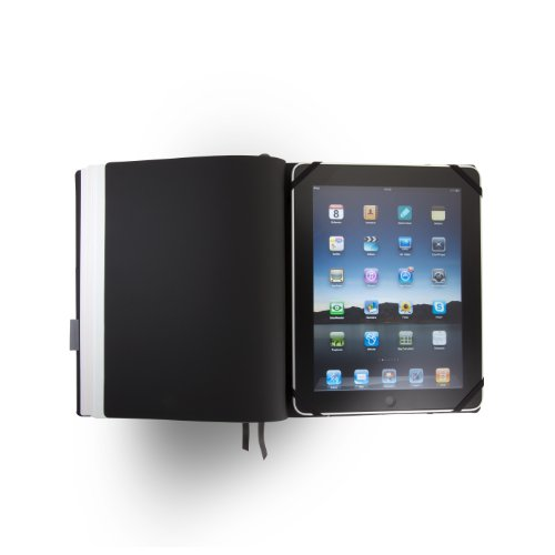 Whitebook Premium P027w-L, nappa leather, welted, red, 240 pp. paper FSC (fits iPad, refillable content booklets)