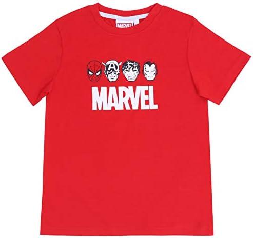 2 x Pijama Gris y Rojo Marvel