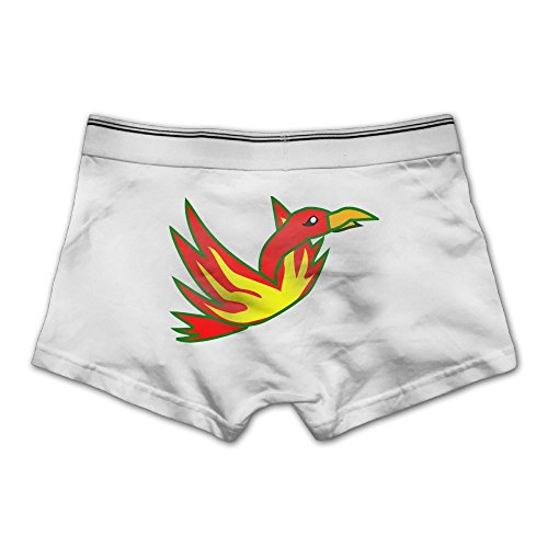Unhuangs Cartoon Phoenix Men's Low Waists And High Waists, Shorts, Tights, And Short Fiber Underwear M - In Airport Az Phoenix