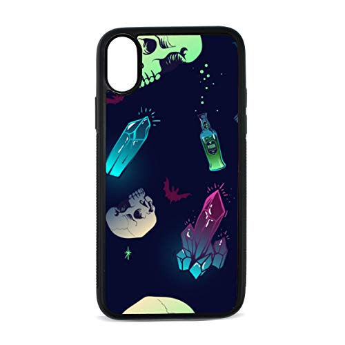 Drink Desserts Hand Drawn Color Digital Print TPU Pc Pearl Plate Cover Phone Hard Case Cell Phone Accessories Compatible with Protective Apple Iphonex/xs Case 5.8 -