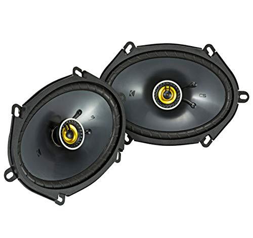 Kicker 46CSC684 Car Audio 6x8 5x7 Coaxial Full Range Stereo Speakers ()