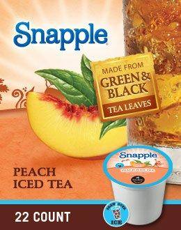 Snapple Peach Iced Tea K-Cups by Snapple
