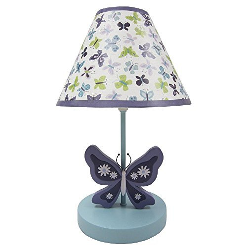 Beautiful Butterfly Lamp & Shade