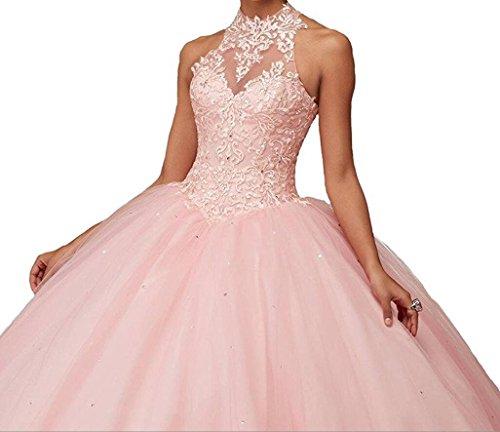 Generic -  Vestito  - Donna rosa Pink