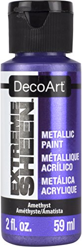 DecoArt DPM18-30 Extreme Sheen 2 Oz Paint, Amethyst Extreme Sheen Paint
