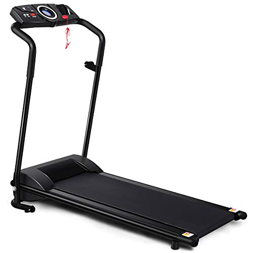 GYMAX Folding Treadmill Portable