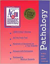 Usmle step 1 review, pathology: ace the boards series author John