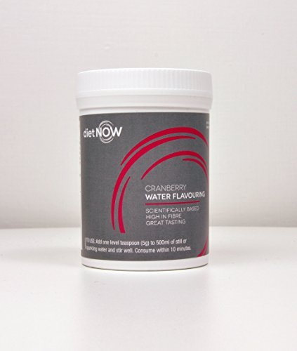 Diet Now High Fibre Water Flavouring Cranberry by Diet Now by Diet Now