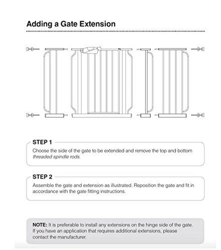 extension 0932pw 0934pw gate