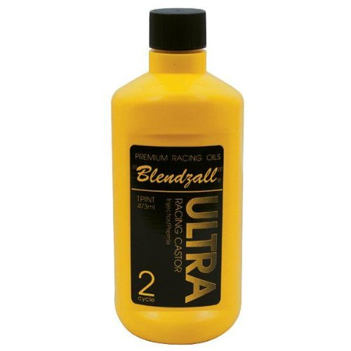 Blendzall Ultra Racing Castor Oil - 2 Cycle - 16oz. 455 ()