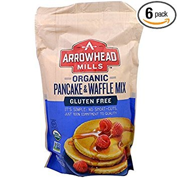 (Arrowhead Mills Gluten Free Organic Pancake & Waffle Mix (6x26oz))