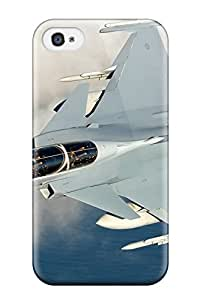 Tammy Allen Penner Scratch-free Phone Case For Iphone 4/4s- Retail Packaging - Aircraft