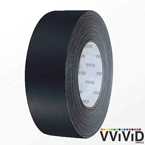 VViViD Black Matte Air-Release Adhesive Vinyl Tape Roll (0.5