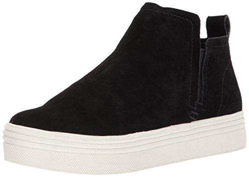 Dolce Vita Women's Tate Sneaker, Black Suede, 9.5 Medium US