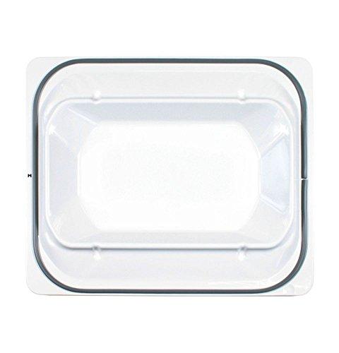 Ge WE10X20418 Dryer Door Inner Panel Genuine Original Equipment Manufacturer (OEM) Part, White - Refrigerator Inner Door Panel
