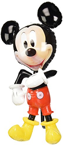 WDK Partner - A1300327 - Jeu de Plein Air - Personnage gonflable Mickey Mouse