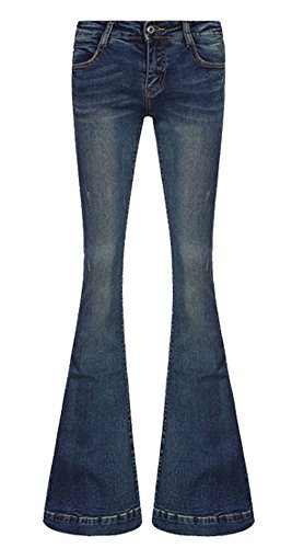 Flare Mid Rise Jeans - 5