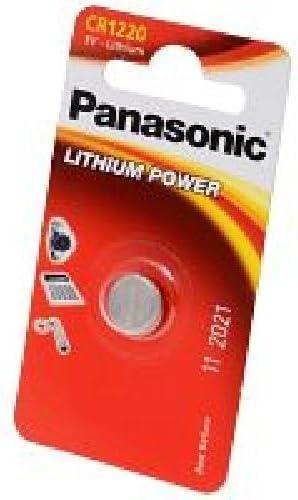 1 x Varta Electronics Batterie CR1220 Lithium 3V Knopfbatterie CR 1220 35 mAh