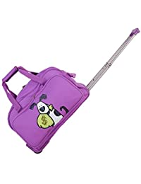 Ed Heck Money Doggie Wheeled Duffel 20-Inch, Purple, One Size