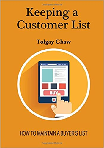 Buy Keeping a Customer List: How to Maintain a Buyer's List Book