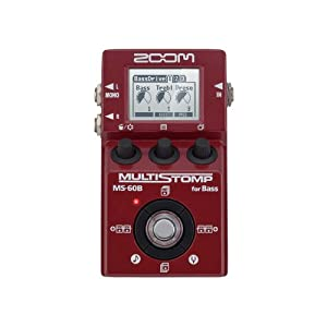 ZOOM MS-60B Multi Stomp for Bass