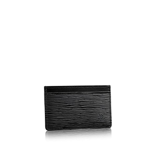 20762bf130b507 Louis Vuitton Epi Leather Black Noir Card Holder M63512 - Buy Online in  UAE.   Shoes Products in the UAE - See Prices, Reviews and Free Delivery in  Dubai, ...