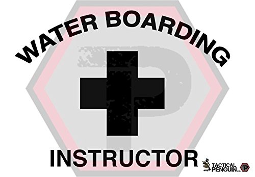 (Tactical Penguin Water Boarding Instructor Decal 4