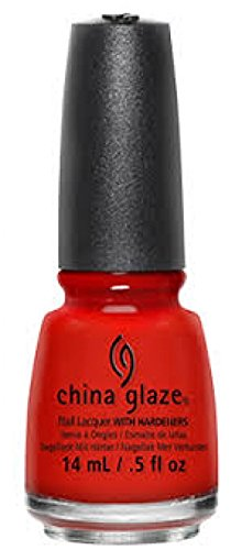 - China Glaze Nail Polish - (#70529 AZTEC ORANGE)