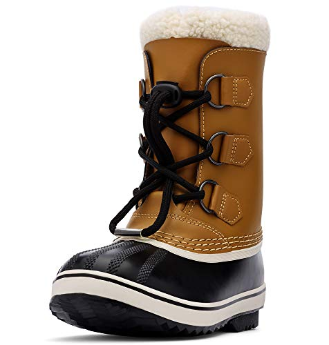 Sorel – Youth Yoot Pac TP Winter Snow Boot for Kids, Mesquite, 4 M US