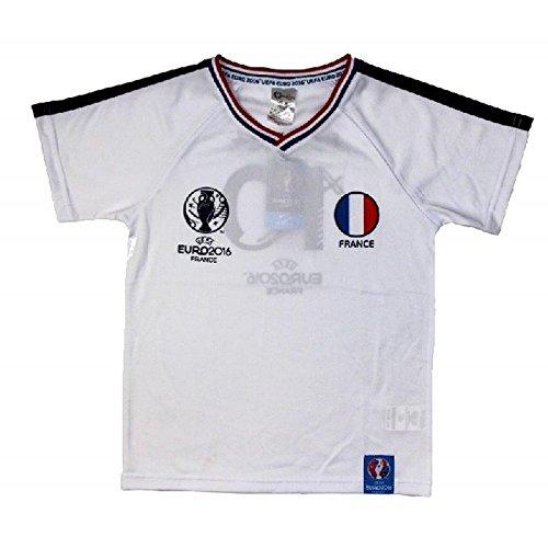 Uefa Euro 2016-Camiseta de fútbol de Francia Uefa Euro 2016 oficial, talla de