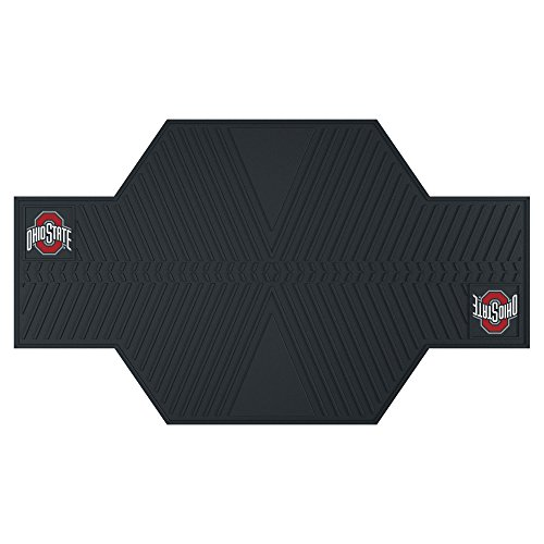 FANMATS 15209 Ohio State University Motorcycle Mat