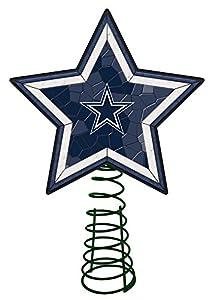 Amazon.com: Dallas Cowboys Mosaic Tree Topper: Sports & Outdoors