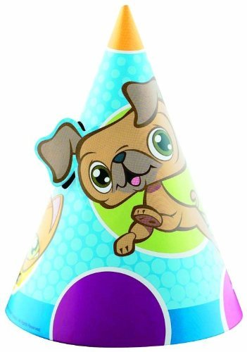 Designware Littlest Pet Shop Cone Hats (8ct) -