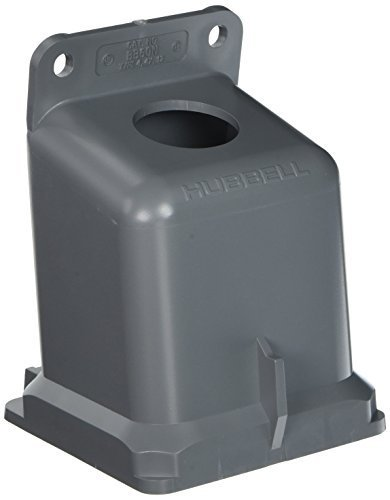 Hubbell BB60N Pin and Sleeve Products, IEC, Angular Box, 100A, 1 1/4'', Non-Metallic