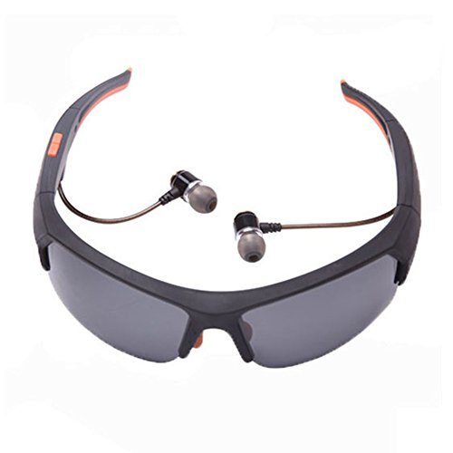 (Wireless Bluetooth Sunglasses for Men Effectively Prevent Ultraviolet Rays and Harmful Blue Light Polarized Sports Sunglasses Support Wireless Headset and Hands-free)