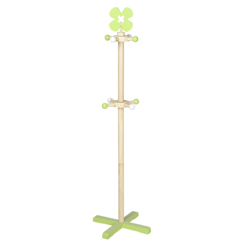 MEIDUO Hat Coat Stand, 8 Hooks Rotating Coat Stand Hanger Hall Umbrella Holder Hooks Office Entryway (Color : A)