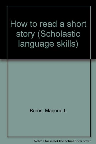How to read a short story (Scholastic language skills)